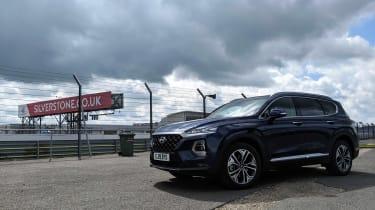 Hyundai Santa Fe long termer - second report Silverstone