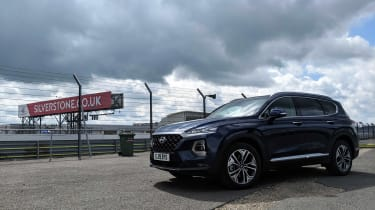 Hyundai Santa Fe long termer - second report Silverstone