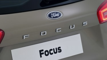 New Ford Focus Estate studio - rear badge