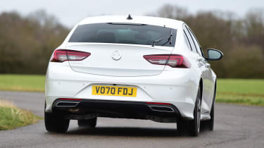 Vauxhall Insignia 1.5 diesel - rear cornering