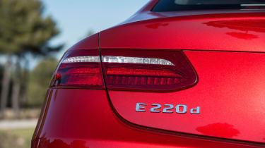 Mercedes E-Class Coupe - E 220d rear light