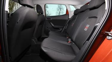 Seat Ibiza FR- rear seats