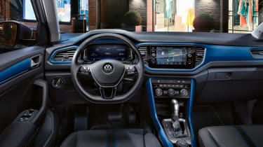 Getting personal with the T-Roc (sponsored) - interior blue wide