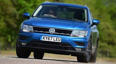 Used Volkswagen Tiguan - front cornering