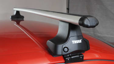 Roof bars tested