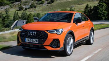 Audi Q3 Sportback - front action