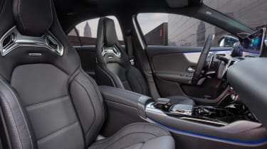 Mercedes-AMG A 35 Saloon - front seats