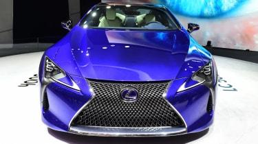 Lexus LC500h - Geneva show front