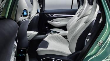 Skoda VisionS concept studio - rear seats 2