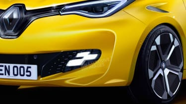 Renault ZOE RS - front detail (watermarked)