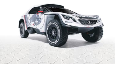 Peugeot 3008 DKR - front three quarter