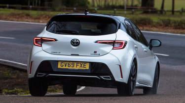 Toyota Corolla GR Sport - rear cornering