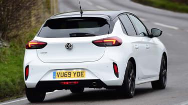 Vauxhall Corsa - rear cornering