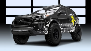 Hyundai Rockstar Santa Fe SEMA