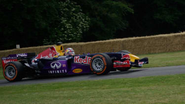 This was the first Red Bull F1 car, driven by David Coulthard in 2005.