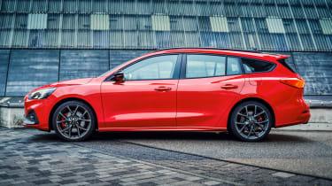 Ford Focus ST Estate - side