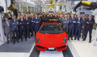 Lamborghini Gallardo production ends
