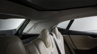 Tesla Model S estate rear seats