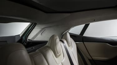 Tesla Model S estate rear seats
