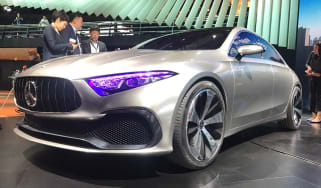 Mercedes concept A front quarter