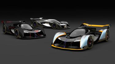 McLaren Ultimate Vision Gran Turismo - group
