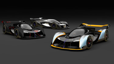 McLaren Ultimate Vision Gran Turismo - group