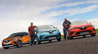 Renault Clio Long termer - group