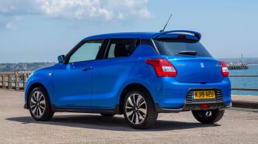 Suzuki Swift Attitude - rear static
