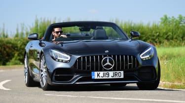 Mercedes-AMG GT Roadster - front cornering