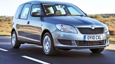 The Roomster is the ugly duckling of Skoda's range.