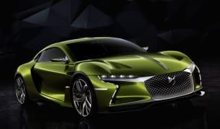 DS E-Tense concept car - front