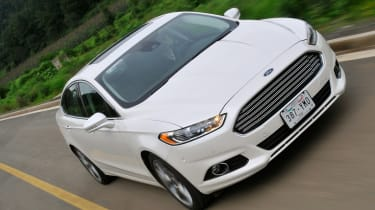 Ford Fusion 2.0 EcoBoost front action