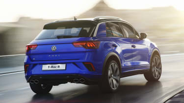 Volkswagen T-Roc R - rear action