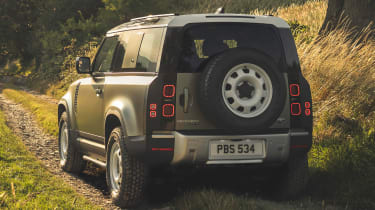 2019 Land Rover Defender rear