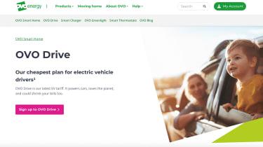 OVO website