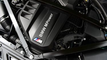 BMW M3 Competition - engine