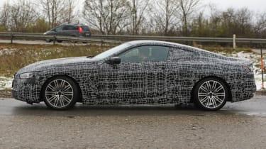 BMW 8 Series - spy shot side profile