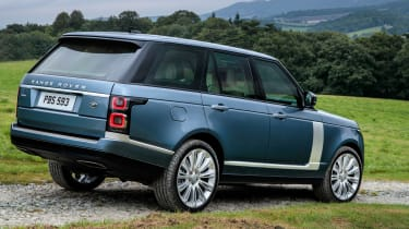 Updated Range Rover - rear action