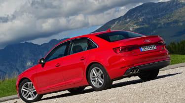 New Audi A4 2016 rear static