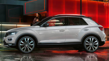 Volkswagen T-Roc design secrets revealed (sponsored) - side