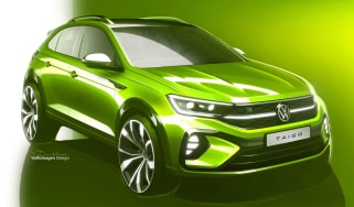 Volkswagen Taigo - front sketch