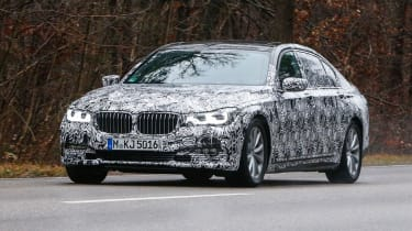 BMW 7 Series spyshots front