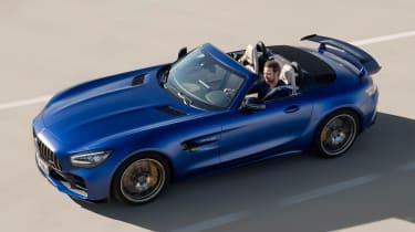 Mercedes-AMG GT R Roadster - above