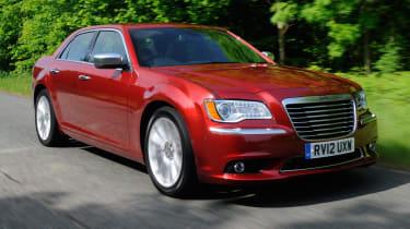 Chrysler 300C front tracking