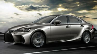 Lexus IS 2016 front