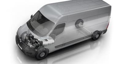 Renault Master Z.E. EV van