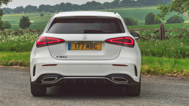 Mercedes A 180 d - full rear static
