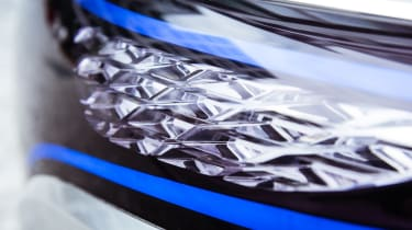 Mercedes EQ Concept - light detail