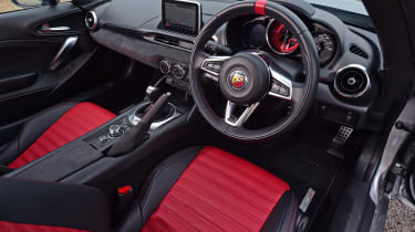 Abarth 124 GT - interior