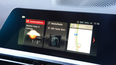 BMW 3 Series - infotainment
